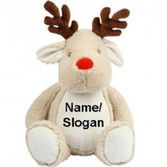 Personalised Reindeer Christmas Teddy Bear